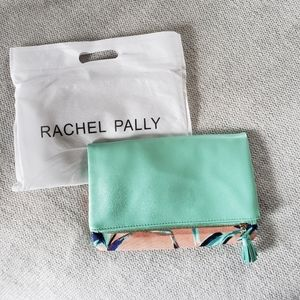 Rachel Pally Tropical Print Reversible Clutch